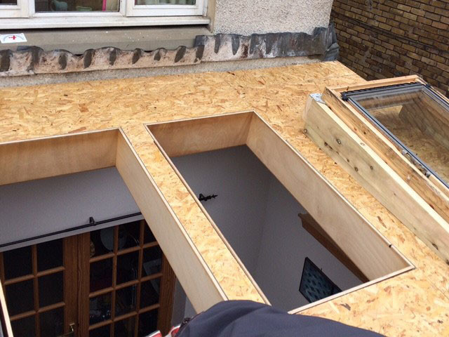 Roofers Edinburgh Nfrc Flat Roofers Km Roofing: low pitched roof
