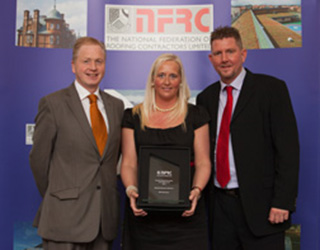 KM Roofing Edinburgh win NFRC Award