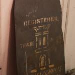 Ballachulish slate stencil, Roofers Edinburgh