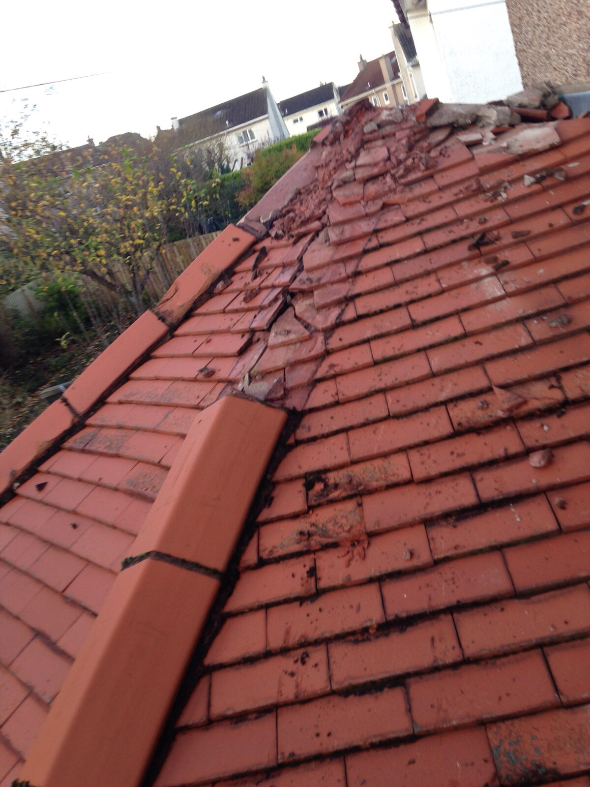 Roofing companies edinburgh roofers km roofing Low pitched roof